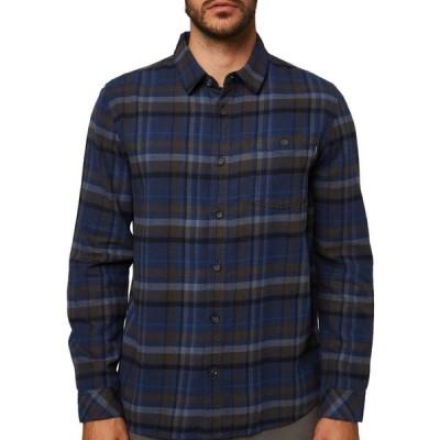 オニール O'Neill メンズ シャツ フランネルシャツ トップス Redmond Flannel Shirt Navy