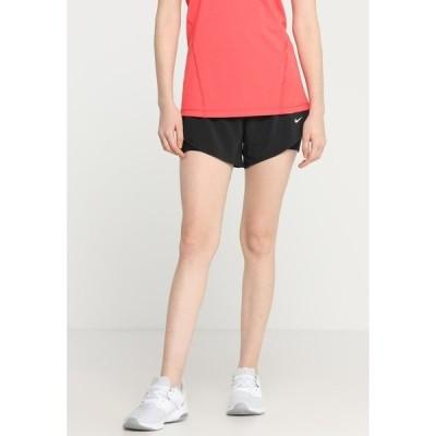 ナイキ カジュアルパンツ レディース ボトムス SHORT 2-IN-1 - Sports shorts - black/white