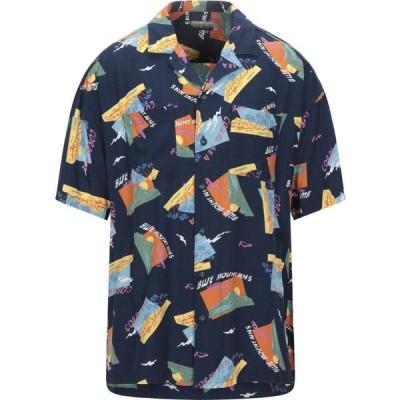 ナパピリ NAPAPIJRI メンズ シャツ トップス patterned shirt Dark blue