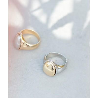 指輪 【GOLDY】メタルRING