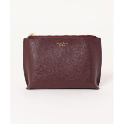 Samantha Thavasa Petit Choice / 【Italian Leather Series】ポーチ(大) WOMEN 財布/小物 > ポーチ