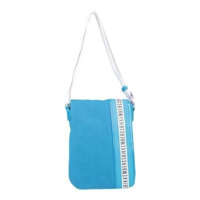 ビッケンバーグ BIKKEMBERGS メッセンジャーバッグ アジュールブルー 紡績繊維 メッセンジャーバッグ