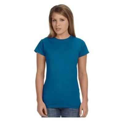 レディース 衣類 トップス Gildan Women's Softstyle Preshrunk Jersey Knit T-Shirt Style G64000L Tシャツ