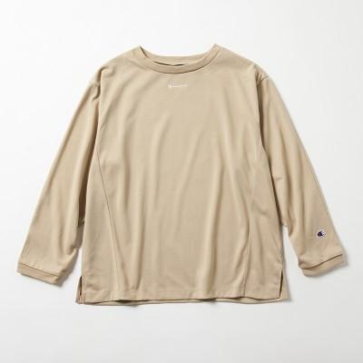 ウィメンズ ロングスリーブTシャツ ブラックエディション チャンピオン(CW-R402)