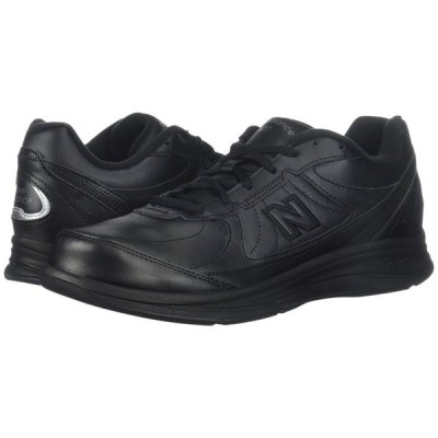 ニューバランス New Balance メンズ スニーカー シューズ・靴 MW577 Black/Black