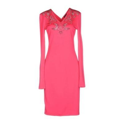 JUST CAVALLI チューブドレス  レディースファッション  ドレス、ブライダル  パーティドレス フューシャ