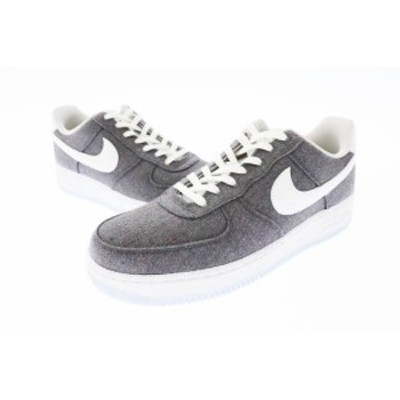 【中古】ナイキ NIKE AIR FORCE 1 '07 RECYCLED CANVAS PACK エアフォース CN0866-002 26.5 ▲■210509 0035