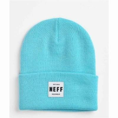 ネフ NEFF レディース ニット ビーニー 帽子 Neff Lawrence 2 Electric Blue Beanie Light/pastel blue