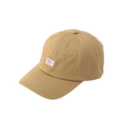 coen メンズ SMITH'S(スミス)別注ロゴキャップ 帽子 ベージュ