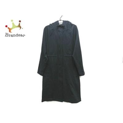スリードッツ three dots コート サイズS レディース 美品 - ネイビー 長袖/春 新着 20210130
