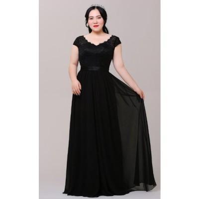 【大きいサイズロングカラードレス】ウェディングドレス/ウエディングドレス/パーティードレス/編み上げタイプ【XL−7XLサイズ】fhk11