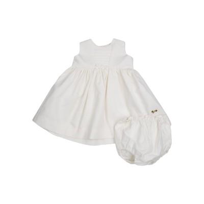 HARMONT&BLAINE ワンピース・ドレス アイボリー 0 コットン 100% ワンピース・ドレス