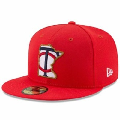 New Era ニュー エラ スポーツ用品  New Era Minnesota Twins Youth Red 2017 Players Weekend 59FIFTY Fitted Hat