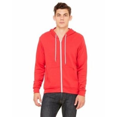 ファッション トップス Clementine Womens Poly-Cotton Fleece Full-Zip Hoodie CLM3739TN All Sizes