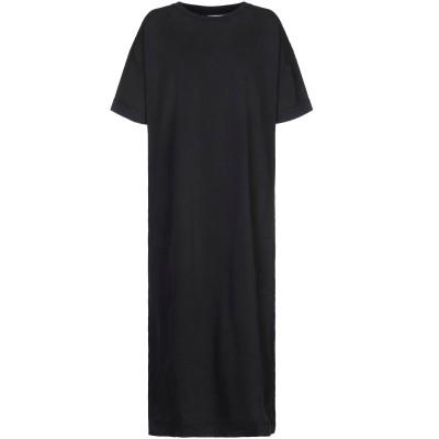 NA-KD 7分丈ワンピース・ドレス ブラック XS コットン 100% 7分丈ワンピース・ドレス