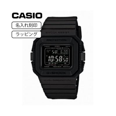 CASIO カシオ 腕時計 Gショック G-SHOCK メンズ ジーショック 電波ソーラー デジタル GW-5510-1B ブラック 【名入れ刻印】