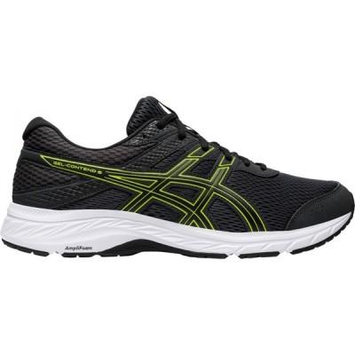 アシックス ASICS メンズ ランニング・ウォーキング シューズ・靴 GEL-Contend 6 Running Shoes Grey/Lime