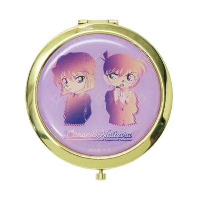 名探偵コナン グッズ 手鏡 W コンパクトミラー コナン & 灰原 アニメキャラクター
