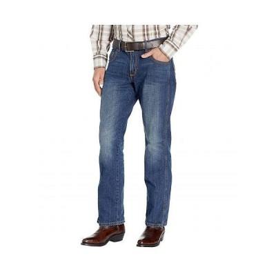 Wrangler ラングラー メンズ 男性用 ファッション ジーンズ デニム Retro Slim Straight Jeans - Cottonwood