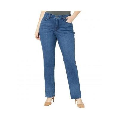 NYDJ Plus Size エヌワイディージェー レディース 女性用 ファッション ジーンズ デニム Plus Size Marilyn Straight Jeans in Habana - Habana