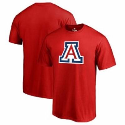 Fanatics Branded ファナティクス ブランド スポーツ用品  Fanatics Branded Arizona Wildcats Red Primary Logo T-Shirt