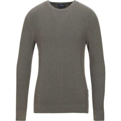 ドルモア DRUMOHR メンズ ニット・セーター トップス Sweater Military green