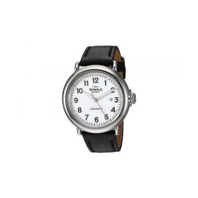Shinola Detroit シノラデトロイト メンズ 男性用 腕時計 ウォッチ ファッション時計 Runwell Automatic - 20141491 - White Glossy Enamel Dial