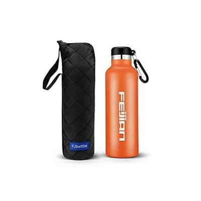 FEIJIAN 水筒 1リットル 真空断熱 保温 保冷 まほうびん 1L ウォーターボトル すいとう 漏れなし スポーツボトル ステンレスボトル アウ