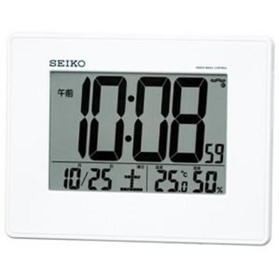 セイコー【特別特価】温度・湿度表示つき電波時計 SQ770W★【SQ770W】