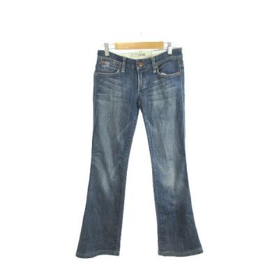 ジョーズ JOE'S パンツ デニム ジーンズ ブーツカット ジップフライ W24 青 ブルー /MS レディース【中古】【ベクトル 古着】