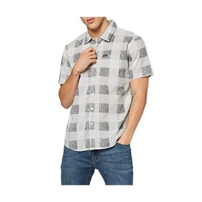 【BRIXTON】ブリクストン 2019春夏 CHARTER PLAID S/S WOVEN メンズ 半袖シャツ ボタンダウンシャツ ワイシャツ トッ