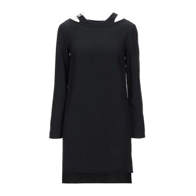 VERSUS VERSACE ミニワンピース&ドレス ブラック 36 アセテート 70% / レーヨン 30% ミニワンピース&ドレス