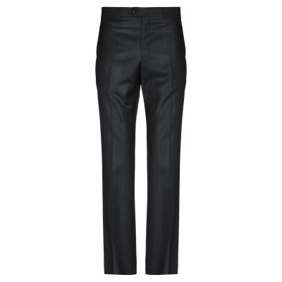 LUIGI BIANCHI Mantova パンツ ブラック 54 バージンウール 100% パンツ