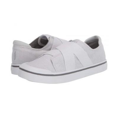 Keen キーン レディース 女性用 シューズ 靴 スニーカー 運動靴 Elsa IV Gore Slip-On - White/White