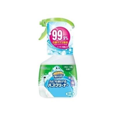 【あわせ買い2999円以上で送料無料】スクラビングバブル カビも防げるバスクリーナー フローラルの香り 本体 400ml