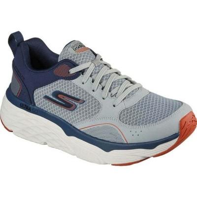 スケッチャーズ Skechers メンズ ランニング・ウォーキング スニーカー シューズ・靴 Max Cushioning Elite Rivalry Sneaker Grey/Navy