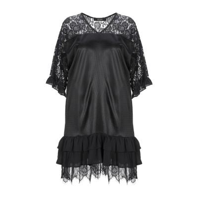 MY TWIN TWINSET ミニワンピース&ドレス ブラック XS ナイロン 100% / ポリエステル ミニワンピース&ドレス