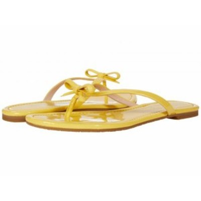 Kate Spade New York ケイト・スペード レディース 女性用 シューズ 靴 サンダル Petit Yellow Sesame【送料無料】