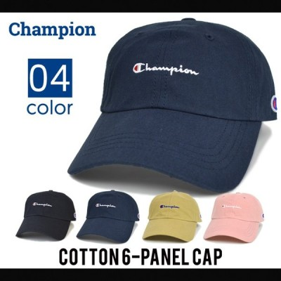 CHAMPION (チャンピオン) COTTON 6-PANEL CAP 6パネルキャップ 帽子 ローキャップ