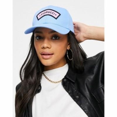 フィオルッチ Fiorucci レディース キャップ 帽子 Embroidered Logo Cap In Blue ブルー