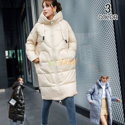 ダウンコート レディース 中綿ジャケット ダウンジャケット アウター ロングコート 中綿コート 厚手 春 秋 冬 カジュアル コート 防寒対策 暖かい