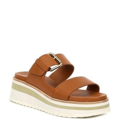 ドルチェヴィータ レディース サンダル シューズ Macen Two Band Leather Platform Sandals