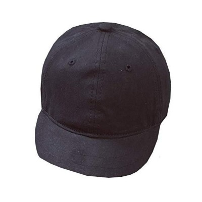 WHITE FANG(ホワイトファング) 帽子 無地 キャップ おしゃれ シンプル かっこいい つば短 メンズ レディース CA257 (01:ブラッ