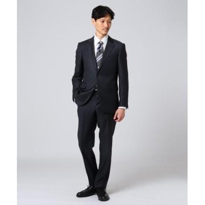 【タケオキクチ】 シャイニーシャクピンヘッド スーツ メンズ チャコール グレー 03(L) TAKEO KIKUCHI