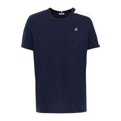 ルコックスポルティフ LE COQ SPORTIF T シャツ ダークブルー M コットン 100% T シャツ
