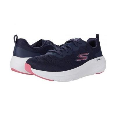 SKECHERS スケッチャーズ レディース 女性用 シューズ 靴 スニーカー 運動靴 Go Run Elevate Mesh Lace-Up - Navy