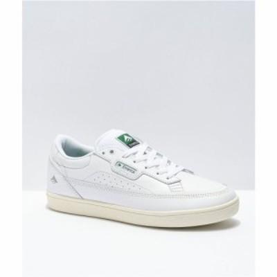 エメリカ EMERICA メンズ スケートボード シューズ・靴 Emerica Gamma White Skate Shoes White