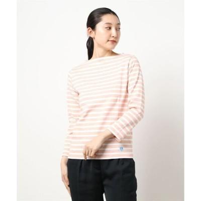 tシャツ Tシャツ 【ORCIVAL】コットンロードフレンチバスクシャツ STRIPE WOMEN