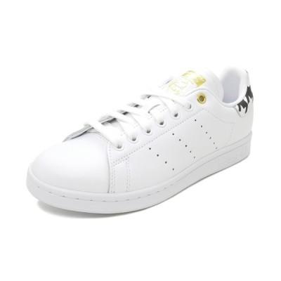 スニーカー アディダス adidas スタンスミスウィメンズ フットウェアホワイト/ゴールドメタリック/コアブラック FU9636 レディース シューズ 靴 20Q4
