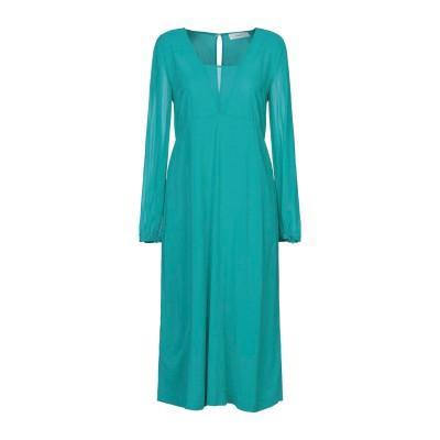 ジャッカ JUCCA 7分丈ワンピース・ドレス ターコイズブルー 42 レーヨン 95% / ポリウレタン 5% 7分丈ワンピース・ドレス